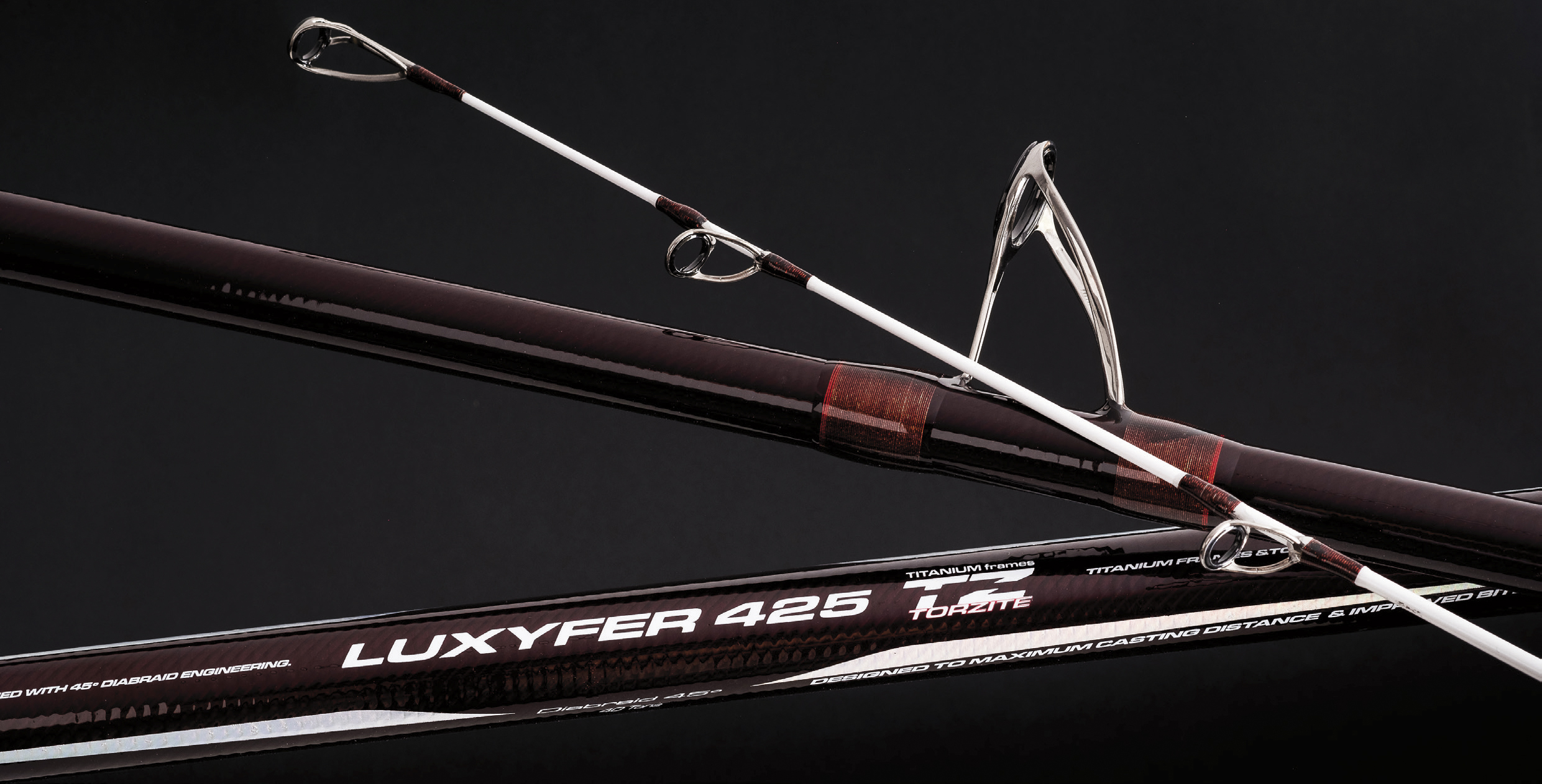 The new cinnetic surf casting rod luxyfer tz 45 hybrid for Surf fishing pole